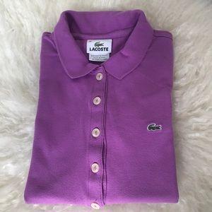 Lacoste girls polo shirt